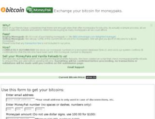 moneypaktobitcoins.com screenshot