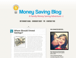 moneysavingblog.org screenshot