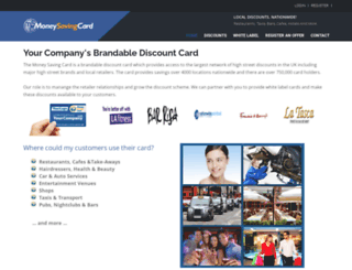 moneysavingcard.co.uk screenshot