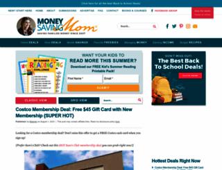 moneysavingmom.com screenshot
