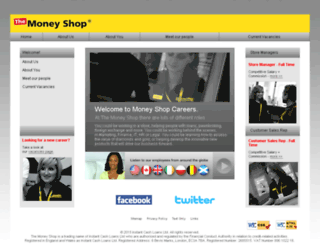 moneyshopcareers.co.uk screenshot