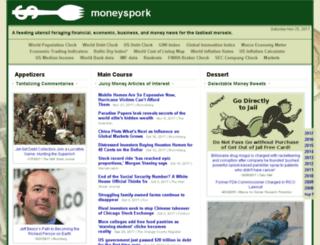 moneyspork.com screenshot