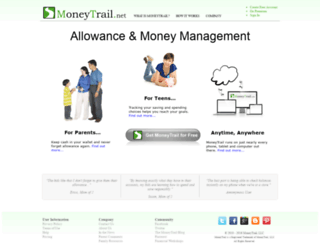 moneytrail.net screenshot