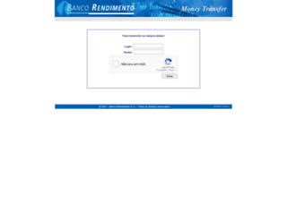 moneytransfer.rendimento.com.br screenshot