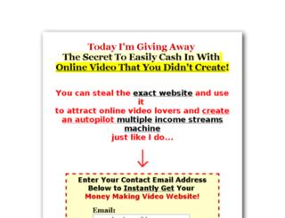 moneyvideosites.com screenshot