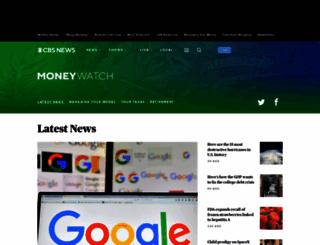 moneywatch.bnet.com screenshot