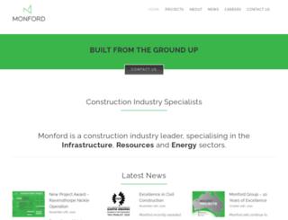 monfordgroup.com screenshot