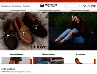monfranceshoes.com screenshot