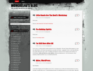 mongrel4u.wordpress.com screenshot