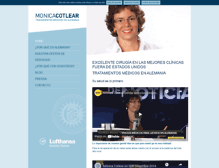 monicacotlear.com screenshot