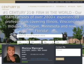 monicamancano.com screenshot