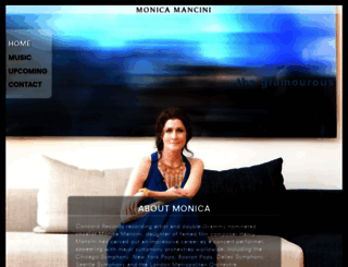monicamancini.com screenshot