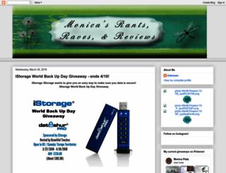 monicasrrr.blogspot.de screenshot