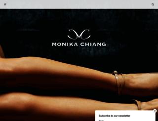 monikachiang.com screenshot