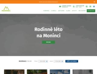 moninec.cz screenshot