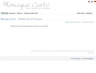 monique-curto.com screenshot