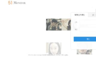 monitor.51zhangdan.com screenshot