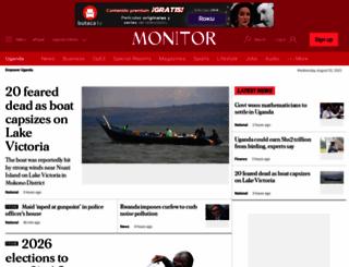 monitor.co.ug screenshot