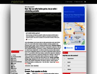 monitor.hr screenshot