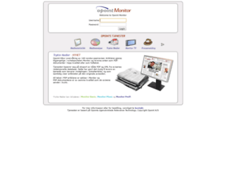 monitor.opoint.com screenshot