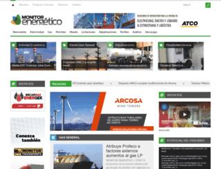 monitorenergetico.com.mx screenshot