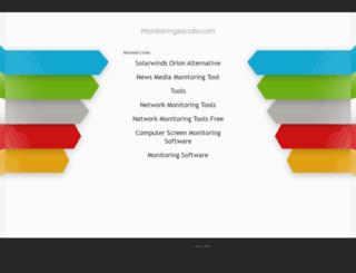 monitoringsocials.com screenshot