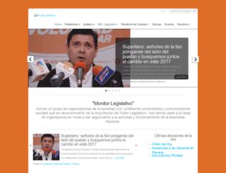 monitorlegislativo.net screenshot