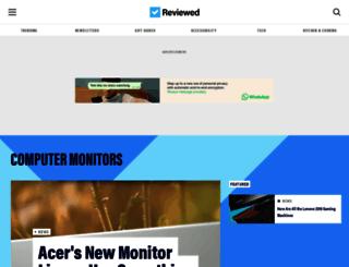 monitors.reviewed.com screenshot