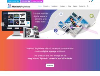 monitorsanywhere.com screenshot