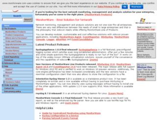 monitorware.com screenshot