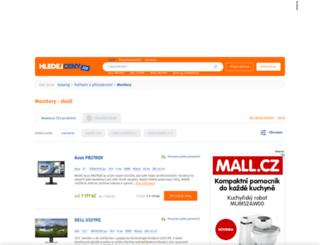 monitory.hledejceny.cz screenshot