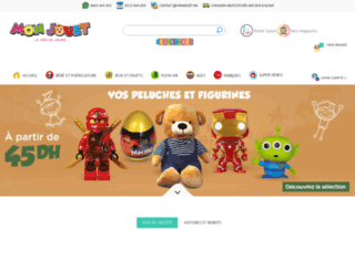 monjouet.ma screenshot