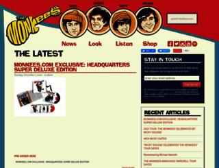 monkees.com screenshot