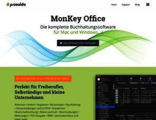 monkey-office.de screenshot