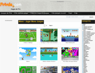 monkey.frivde.com screenshot