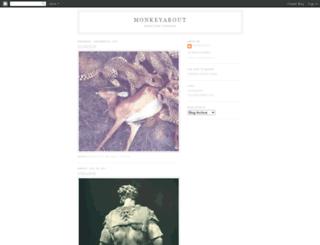 monkeyabout.blogspot.com screenshot
