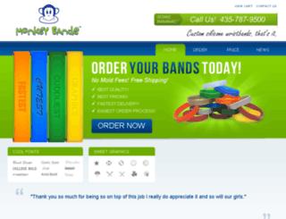 monkeybands.com screenshot