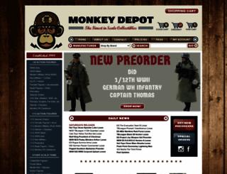 monkeydepot.com screenshot