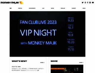monkeymajik.com screenshot