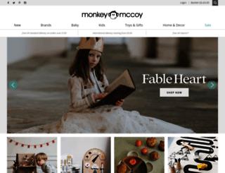 monkeymccoy.co.uk screenshot