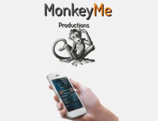 monkeyme-productions.com screenshot