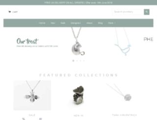 monkeypuzzlejewellery.co.uk screenshot