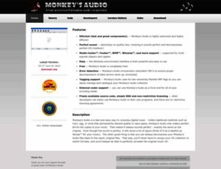 monkeysaudio.com screenshot