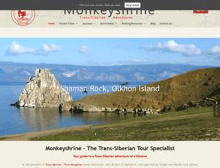 monkeyshrine.com screenshot
