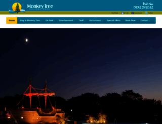 monkeytreeholidaypark.co.uk screenshot