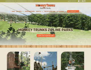 monkeytrunks.com screenshot
