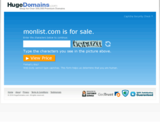 monlist.com screenshot
