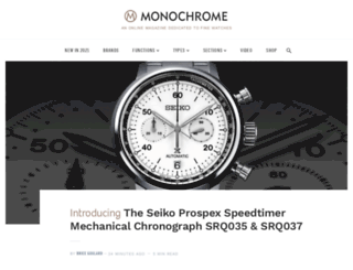 monochrome.nl screenshot