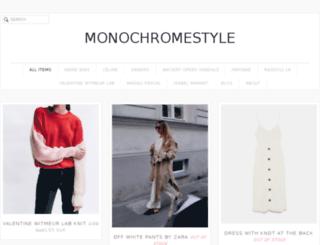 monochromestyle.tictail.com screenshot