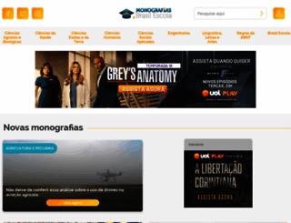 monografias.brasilescola.com screenshot